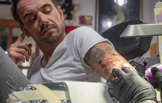 Nieuwe tattoo voor Florian
