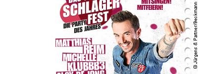 DAS GROSSE SCHLAGERFEST – Die Party des Jahres 2019